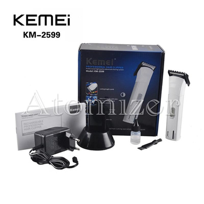 KEMEI KM-2599 Electric Hair Clipper Trimmer Rechargeable Shaver Razor  Cordless Adjustable Clipper