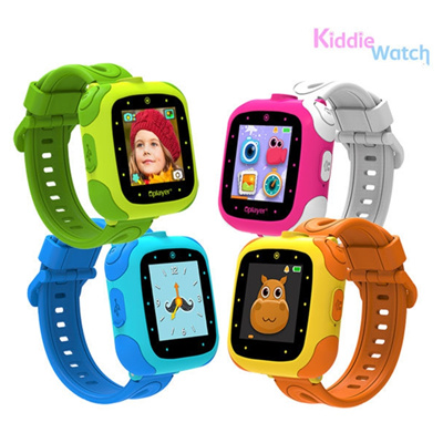 Kiddie WatchKiddie Watch Smart Watch for Kids / Photo Video Game Alarm  Timer / Green Orange Blue Pink