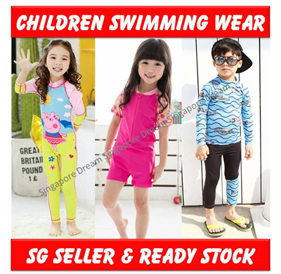 664ec1b4dce9a Kids Boys Girls Baby Toddler Children Child Swim Wear /Swimming Suits  Costume Clothes / Sc 1 St Qoo10