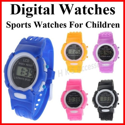 Fashion Children Casual Quartz Watches Colorful Flowers Waterproof Jelly Kids Toys Clock Boys And Girls Students Watch With Traditional Methods Children's Watches