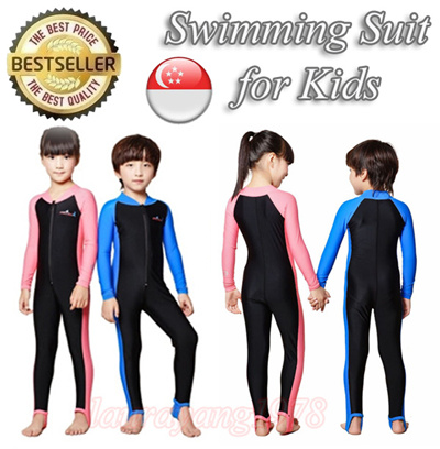 6b4bac4364 Kids Snorkel Diving Swimming Suit Swimwear Swim Clothes Swimsuit Wear Children  Boy Girl
