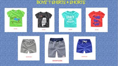 7176e89ed36734 Kids Tee / Boys Clothes T-shirts Shorts / Children Clothings / Good Quality  /
