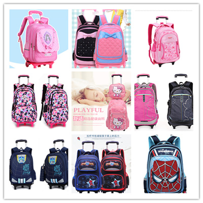 ☆kids Trolley Bags ☆school bags☆cartoon luggage bags☆Birthday gift bc8a5e7372b6a