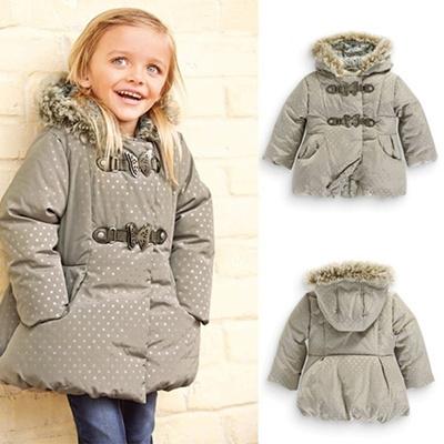Qoo10 - Kids Winter Coat Girls Cotton Winter Jacket Girls Down Jacket  Hooded W...   Women s Clothing b71b39ec9