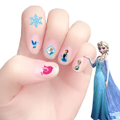 Qoo10 Kindergarten Korea Girls Nail Art Stickers Nail Stickers For