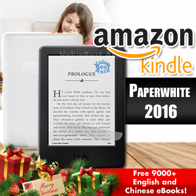 Qoo10 amazon kindle pw mobile devices amazon kindle paperwhite 2016 latest 7th gen with free 9000 english and fandeluxe Choice Image