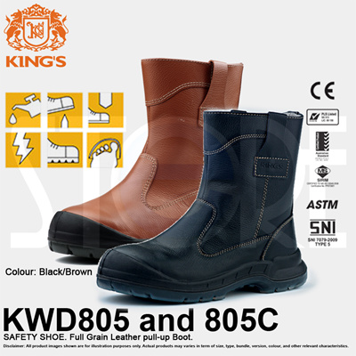 Kings Safety Shoes KWD805 and 805C  FREE SHIPPING BY QXPRESS  QX 7907d04f76