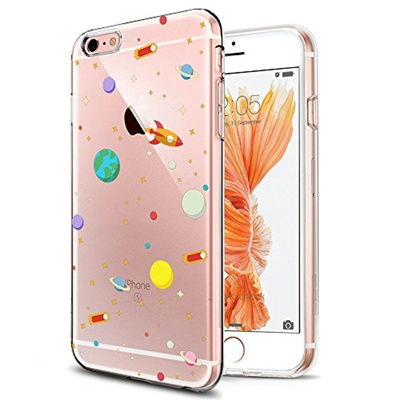 Qoo10 Kiomy Iphone 6s Case Clear With Design Mobile Accessories