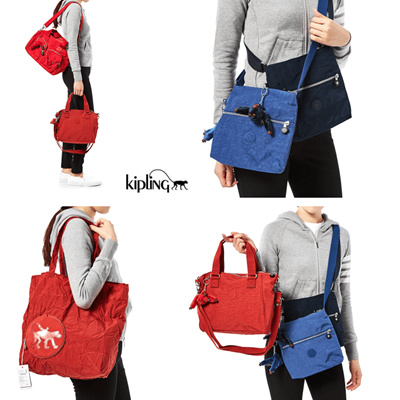 Kipling 100 Authentic Womens Bags Shoulder Bag Cross Body Tote Mini