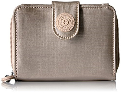 991e2d17e6 Qoo10 - (Kipling) Kipling New Money Gm Wallet-AC7669 (Color:Sparklygld) :  Bag & Wallet