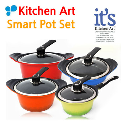 Qoo10 kitchen art pot set kitchen dining for Qoo10 kitchen set