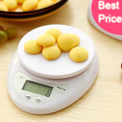 Qoo10 Kitchen Digital Lcd Weighing Scale Portable