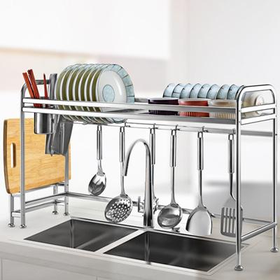 Kitchen Dish Rack Dish Drainer Dish Rack Kitchen Sink Drying Rack Organizer Stainless Steel