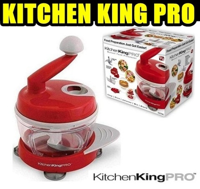 Kitchen King Pro Manual Food Processor Review