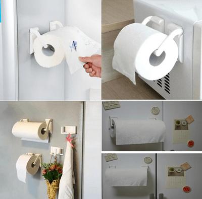 Kitchen Magnet Towel Holder Adjustable Kitchen Towel Holder Tissue Box Holder