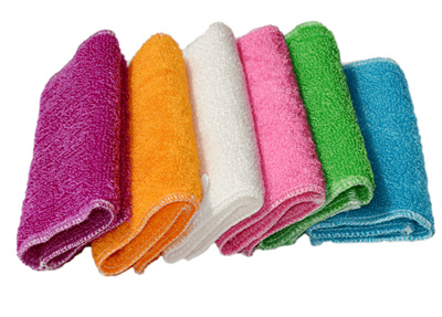 Kitchen Rags Kitchen Towels Bamboo Fiber Dish Towels/colorfulf