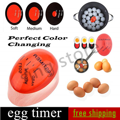 Kitchen Supplies Egg Perfect Color Changing Perfect Boiled Eggs Cooking  Helper Timer
