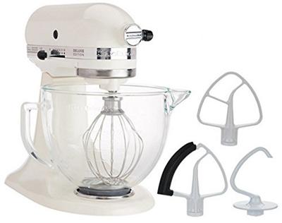Qoo10 - KitchenAid 5-Quart Stand Mixer Glass Bowl Cafe Latte ...