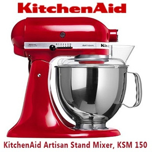 KitchenAid Artisan Stand Mixer With FREE CEREMIC KNIFE SET KSM 150 on kenwood limited, circulon warranty, whirlpool corporation, hamilton beach brands, meyer corporation, kenwood chef, sunbeam products, oneida warranty, apple warranty, amana corporation,