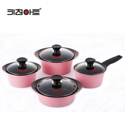 Qoo10 kitchen art opera mini ceramic set of 4 pots for Qoo10 kitchen set