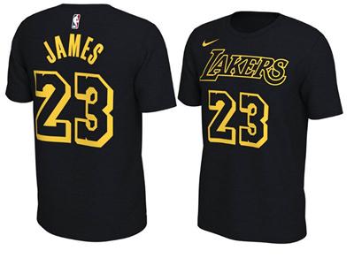 finest selection 61811 ff8e9 kobe James LeBron James T-shirt Silk floss Good quality purple gold