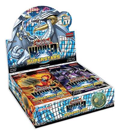 Yu-Gi-Oh World Superstars Booster Box [Sealed] (Konami)