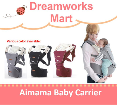 f050d23893e Qoo10 - Korea aimama   Kalemi - Baby Shoulder and Hip Seat Baby Carrier   c w F...   Baby   Maternity