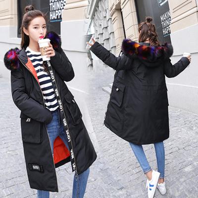 78c06fa53f5e1f Qoo10 - Korea Fashion Winter Down Jacket Olive / Gray / Pink Fucker 3 Color  Fu... : Women's Clothing
