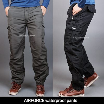 6da4c0a737 ☆KOREA HIT☆ Mens Winter Pants Spring and Fall Pants cargo pants fishing  waterproof Flight