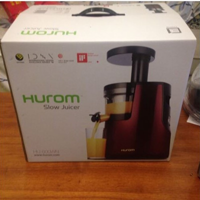 Hurom Hu 600 Slow Juicer Reviews : Qoo10 - Korea HUROM HU-600WN /HH-SBF11 Slow Juicer Cold Press Fruit vegetable ... : Home Electronics