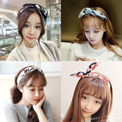 Qoo10 - Korea imported rhombic cherry cartoon puppy cute headband bunny  ears h...   Fashion Accessor. 586a65fe544