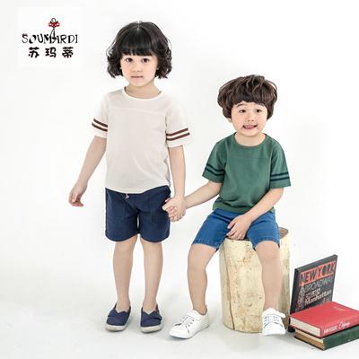 Korea kids boys short,sleeve t,shirt children\u0027 s summer clothing new Korean  half sleeve shirt 201