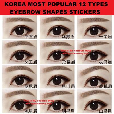Qoo10 - Eyebrow Stickers : Men's Fashion