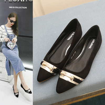 9108a5631ed7e2 Qoo10 - Korea Office Ladies Favorite Elegant Working Flat  Size 35-40    Shoes