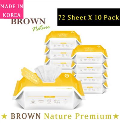 ★ Korea Wet Wipe Best No 1 ★ BROWN Nature Premium / Wet TISSUE/wet wipes /  Baby wipes /Safe for babY
