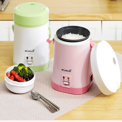KOREA[Wiswell]DRC-1 Multifunction mini Rice cooker electric/heating food Portable