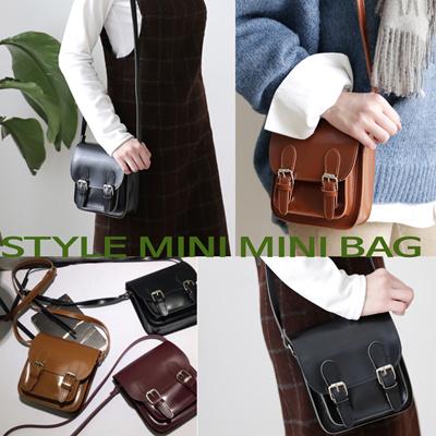 5a5fd5a30bf6 Korea Women Stylish Style Mini Mini Bag Handbags Cross Body Synthetic  Leather Black Brown Wine