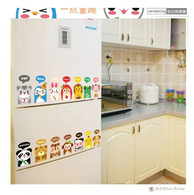 Korean Childrens Cartoon Stickers Stickers Refrigerator Wall Tiling Nursery Decor From Wallpaper Pas