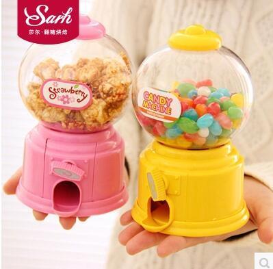 38783e04e Qoo10 - Korean cute mini candy machine plastic children piggy bank Creative  mi...   Furniture   Deco