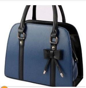 Korean Fashion Bow Tie Ladies Handbag Shoulder Bag Hand Carry Bag Trendy  bag Ladies bag 145f290784b0d