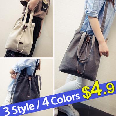 10090b099c93 Korean fashion casual lady bag big fashion tote bag 2018 new canvas bag  female bag simple