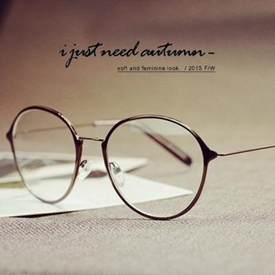 86f47e3f0b Qoo10 - Korean fashion glasses frames plain mirror lens round face men women  s...   Fashion Accessor.