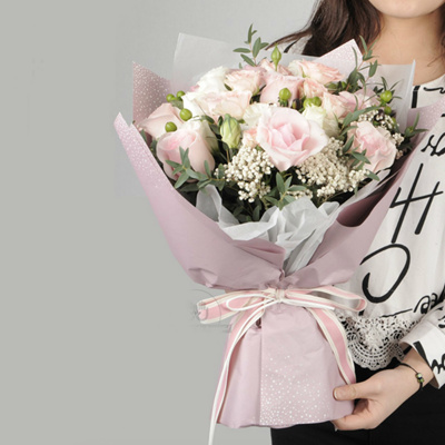 Flowers Wrapped In Kraft Paper Flowers Healthy