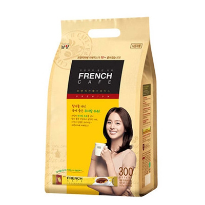 Qoo10 - Korean instant coffee mix 300 sticks/French Cafe Coffee Mix : Drinks & Sweets