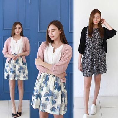 ★ Korean product c025 ★ Swimsuit cardigan ♥ Women&#39 s clothing Popular fashion, pants, slacks, jea