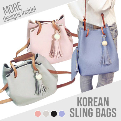 Korean Sling Bag Handbags Shoulder Branded Bags Messenger