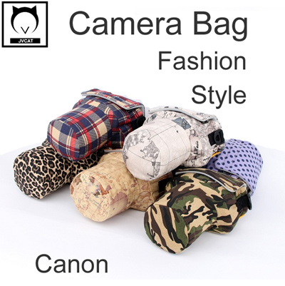 Qoo10 Korean Style Camera Bag Container Fashion Style Colorful Canon 40d 50 Cameras