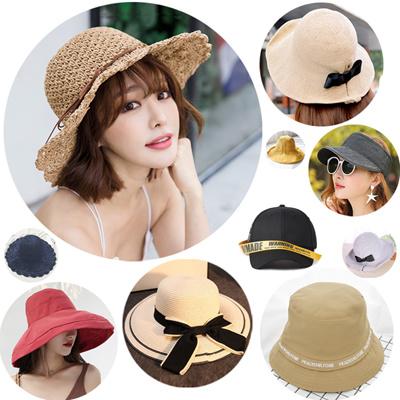 2653016645aaf4 Qoo10 - Straw Hat Cap : Fashion Accessories