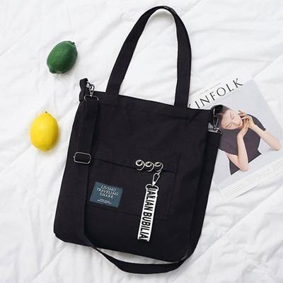 Korean Ulzzang Tote Sling Bag Casual Canvas - New Design 283b525db2084
