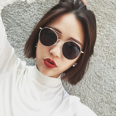 f8b39e49d8 Qoo10 - Korean version of eye glasses girls tide vintage ladies round face  Jok...   Fashion Accessor.